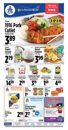 KTA Super Stores deals in the KTA Super Stores catalog ( Expires tomorrow)
