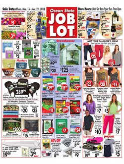 Ocean State Job Lot deals in the Springfield MA weekly ad