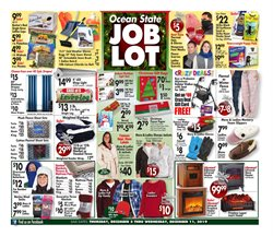 Department Stores deals in the Ocean State Job Lot weekly ad in New Haven CT