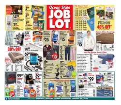 Department Stores deals in the Ocean State Job Lot weekly ad in Lawrence MA