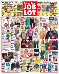 Department Stores offers in the Ocean State Job Lot catalogue in Brockton MA ( Expires tomorrow )