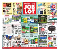 Department Stores offers in the Ocean State Job Lot catalogue in Albany NY ( Published today )