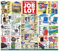 Department Stores offers in the Ocean State Job Lot catalogue in Commack NY ( 3 days left )