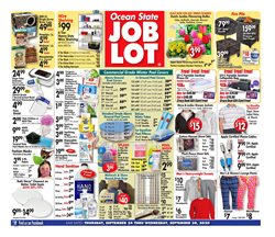 Department Stores offers in the Ocean State Job Lot catalogue in Lawrence MA ( 2 days left )