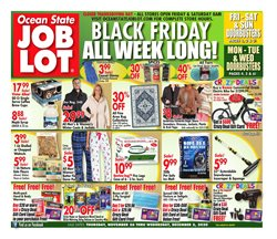 Department Stores offers in the Ocean State Job Lot catalogue in Boston MA ( Expires tomorrow )