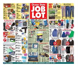 Department Stores offers in the Ocean State Job Lot catalogue in Brockton MA ( Expires today )