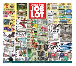 Ocean State Job Lot catalogue ( 1 day ago )