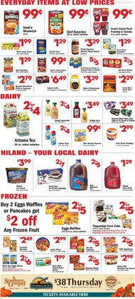 Frozen deals in the Price Cutter weekly ad in Springfield MO