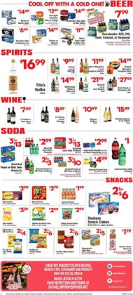 Beer deals in the Price Cutter weekly ad in Springfield MO