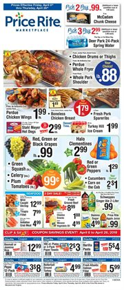 Oil deals in the Price Rite weekly ad in New York
