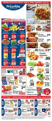 Air conditioner deals in the Price Rite weekly ad in New York