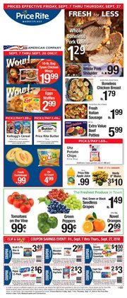 Chicken deals in the Price Rite weekly ad in Norwalk CT