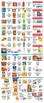 Icecreams deals in the Price Rite weekly ad in New York