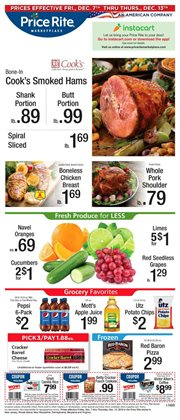 Price Rite deals in the Reading PA weekly ad