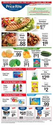 Price Rite deals in the Worcester MA weekly ad