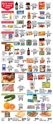 Boxes deals in the Price Rite weekly ad in New York