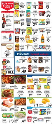 Desserts deals in the Price Rite weekly ad in New York