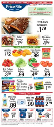 Price Rite deals in the Needham MA weekly ad
