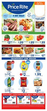 Price Rite deals in the Rochester NY weekly ad