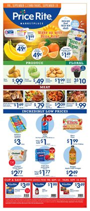 Price Rite deals in the Tonawanda NY weekly ad