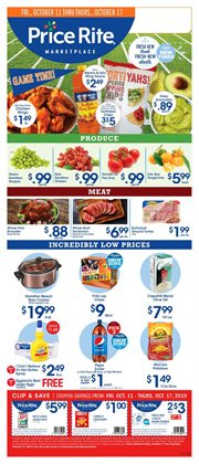 Price Rite deals in the Syracuse NY weekly ad