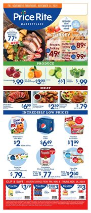 Price Rite deals in the Washington-DC weekly ad