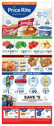 Price Rite deals in the Philadelphia PA weekly ad