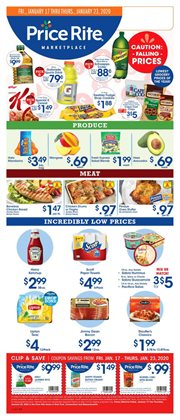 Grocery & Drug deals in the Price Rite weekly ad in Bridgeport CT