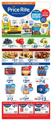 Grocery & Drug deals in the Price Rite weekly ad in Wyomissing PA