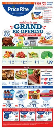 Price Rite catalogue in Baltimore MD ( 3 days left )