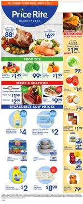 Grocery & Drug offers in the Price Rite catalogue ( 2 days left )