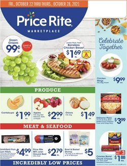 Grocery & Drug deals in the Price Rite catalog ( 2 days left)