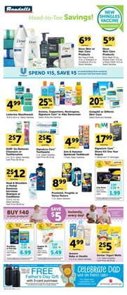 Shampoo deals in the Randalls weekly ad in Humble TX