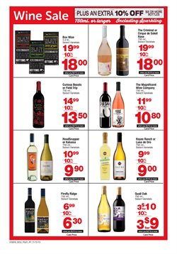 Wine deals in the Randalls weekly ad in Houston TX