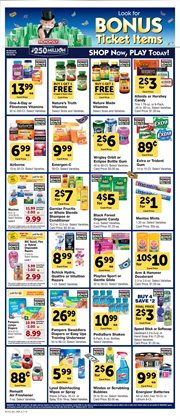 Baby wipes deals in the Randalls weekly ad in Humble TX