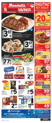 Grocery & Drug offers in the Randalls catalogue in Dickinson TX ( 3 days left )