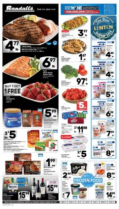 Grocery & Drug offers in the Randalls catalogue in Pearland TX ( 7 days left )