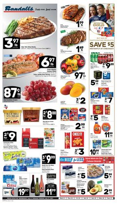 Grocery & Drug deals in the Randalls catalog ( Expires today)