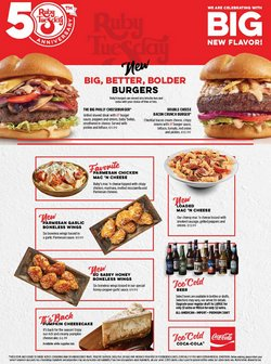 Restaurants deals in the Ruby Tuesday catalog ( 15 days left)
