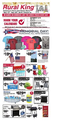 Rural King deals in the Evansville IN weekly ad