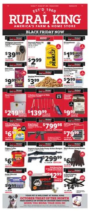 Rural King deals in the Rural King catalog ( Expires tomorrow)