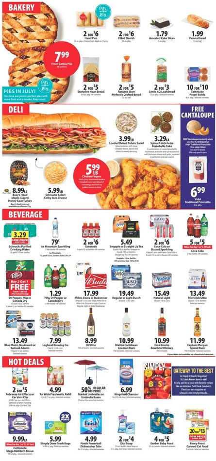 Granite City Coupons >> Schnucks Granite City Il Weekly Ads Coupons July