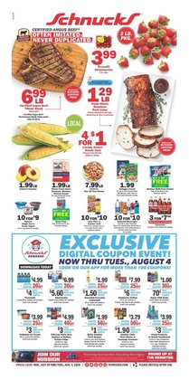 Schnucks catalogue ( Expires tomorrow )