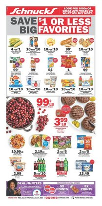 Grocery & Drug deals in the Schnucks catalog ( Expires today)