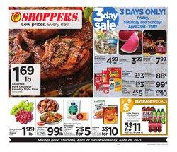 SHOPPERS catalogue ( 1 day ago )
