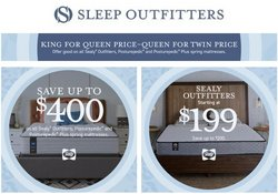 Home & Furniture deals in the Sleep Outfitters catalog ( 3 days left)