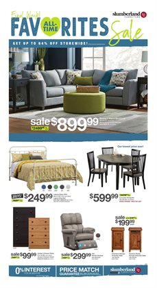 Slumberland Furniture Deals In The North Branch Mn Weekly Ad