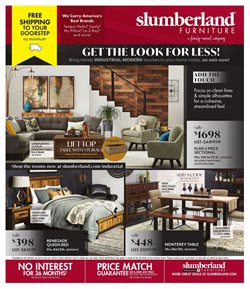 Home & Furniture offers in the Slumberland Furniture catalogue in Waterloo IA ( Expires tomorrow )