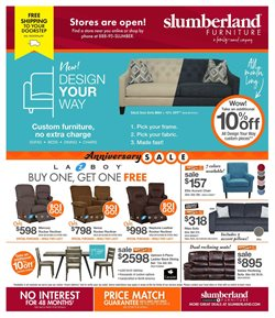 Home & Furniture offers in the Slumberland Furniture catalogue in Saint Charles MO ( 1 day ago )
