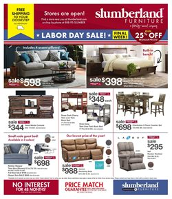 Home & Furniture offers in the Slumberland Furniture catalogue in Janesville WI ( Expires today )